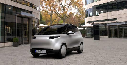Маленький, но гордый: шведский стартап показал трёхместный электромобиль Uniti One