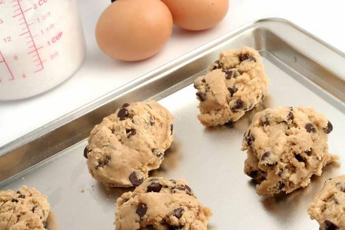 После выпекания печенье готово к употреблению