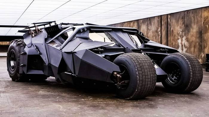 "Бэтмобиль, ""Бэтмен. Начало"""