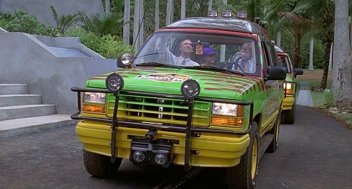"""Ford Explorer, """"Парк Юрского периода"""""""