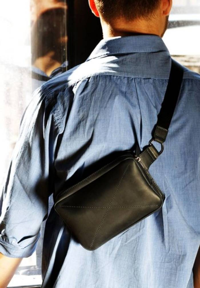 Поясная сумка или сумка-бананка - тренд сезона