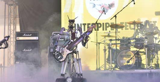 Робот-тренер и «вечный» блокнот: на Interpipe TechFest 2019 представили украинские стартапы