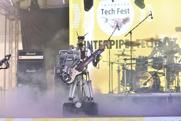 В 2019-м Interpipe TechFest стал настоящим сборищем роботов