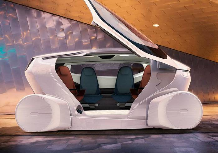 Концепт-кар InMotion от NEVS - как раз тот самый городской авто будущего