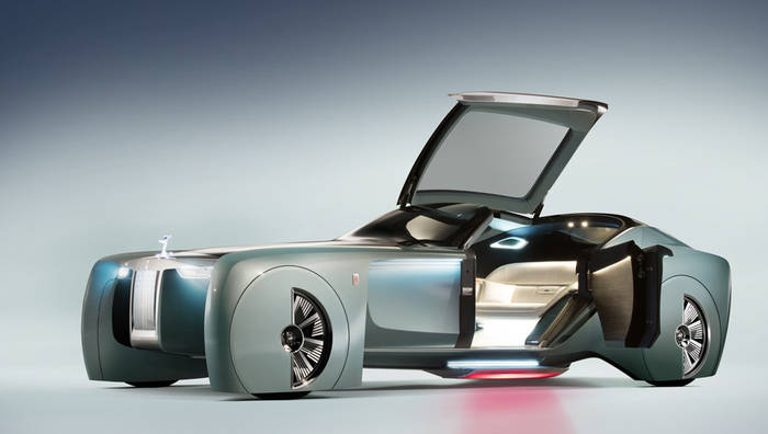 Rolls-Royce тоже не отстает. Даже люксовый беспилотник презентовал пару лет назад