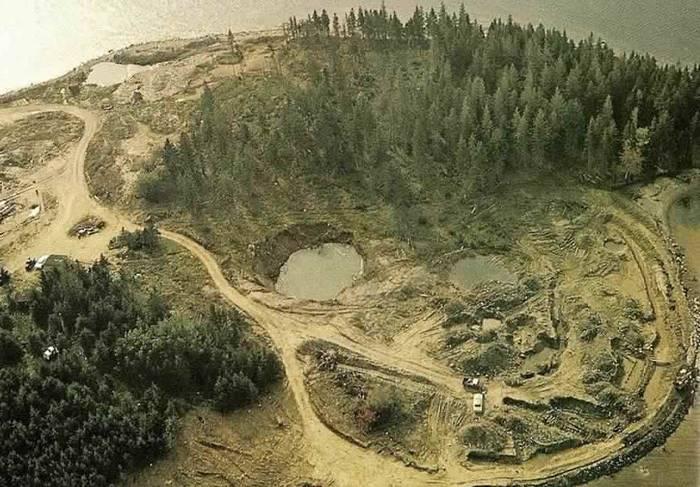 Шахта острова Оук