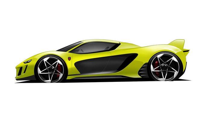 Официальное изображение будущего спорткара Gemballa