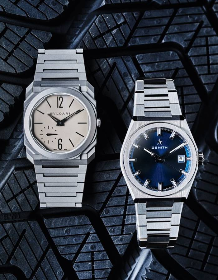 часы Octo Finissimo Automatic; часы Defy Classic