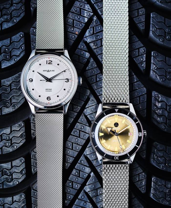 Часы Heritage Automatic; часы Tradition Captain Cook