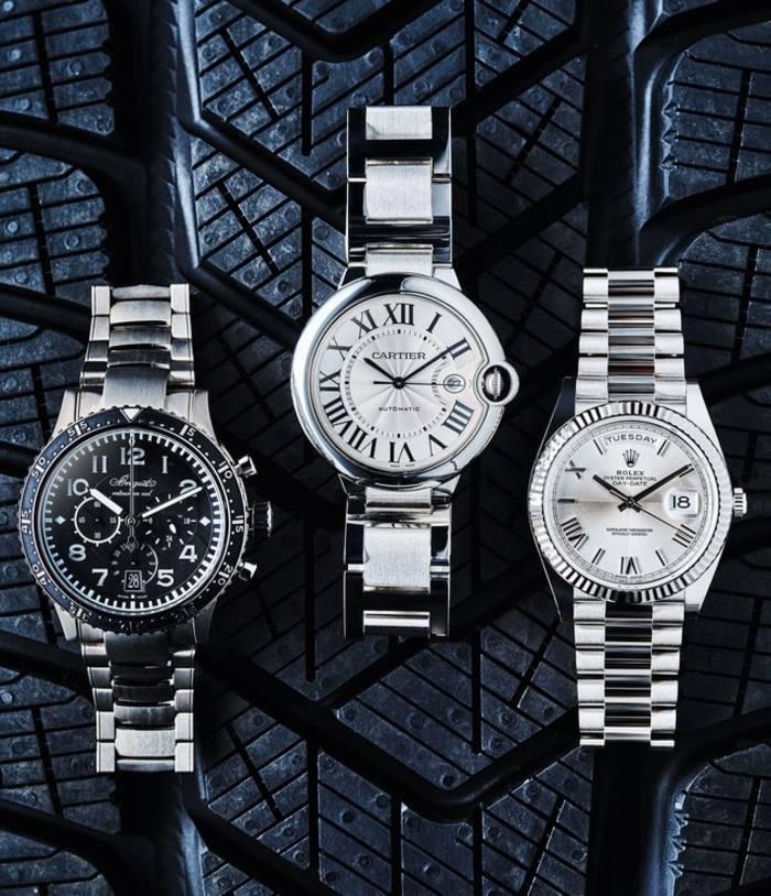 Часы Type XX - XXI - XXII; Ballon Bleu de Cartier; Oyster Perpetual Day-Date