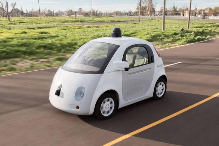 Беспилотный микрокар от Google. Может появиться на улицах уже в 2020