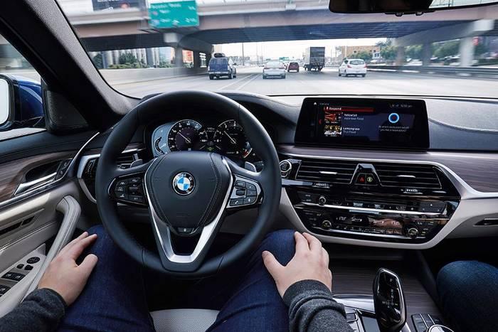BMW тоже не стоят в стороне создания машин с автопилотами