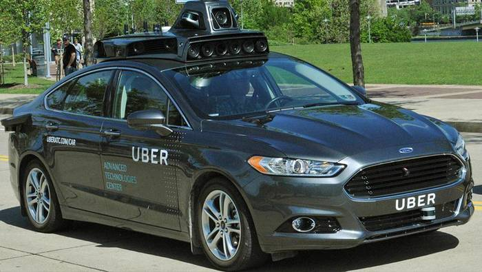 Беспилотники от Uber. Хороши, но часто сокращают путь, выезжая на велодорожки