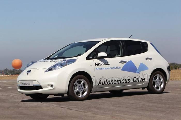Nissan хочет внедрить третью степень автономности уже в 2020 году