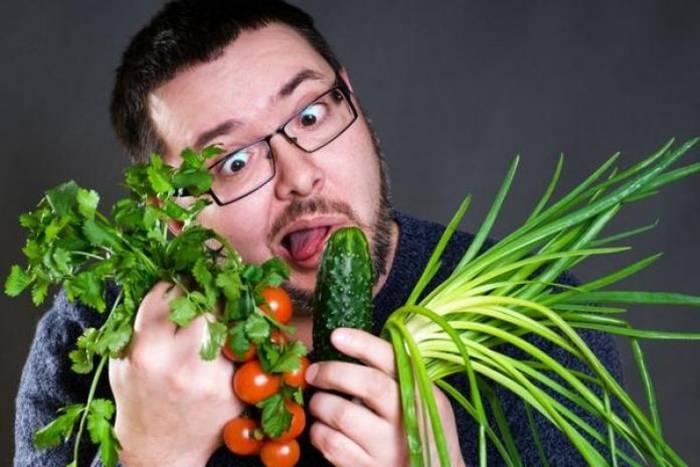 Яростнее налегай на овощи, они восстановят твой внутренний баланс и без мяса