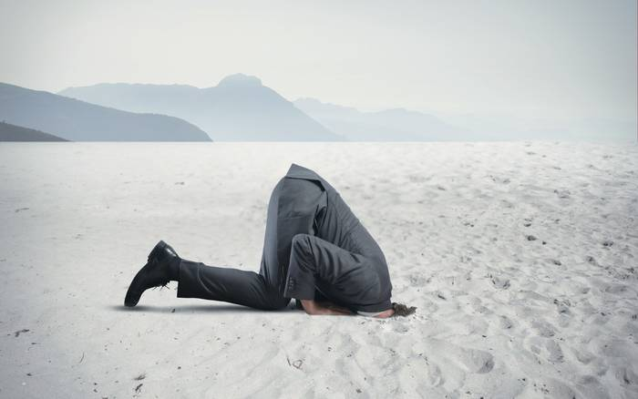 Не прячь голову в песок - со страхами надо бороться