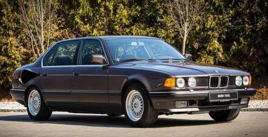 Хорошо забытое старое: BMW 7 серии с мощнейшим мотором V16