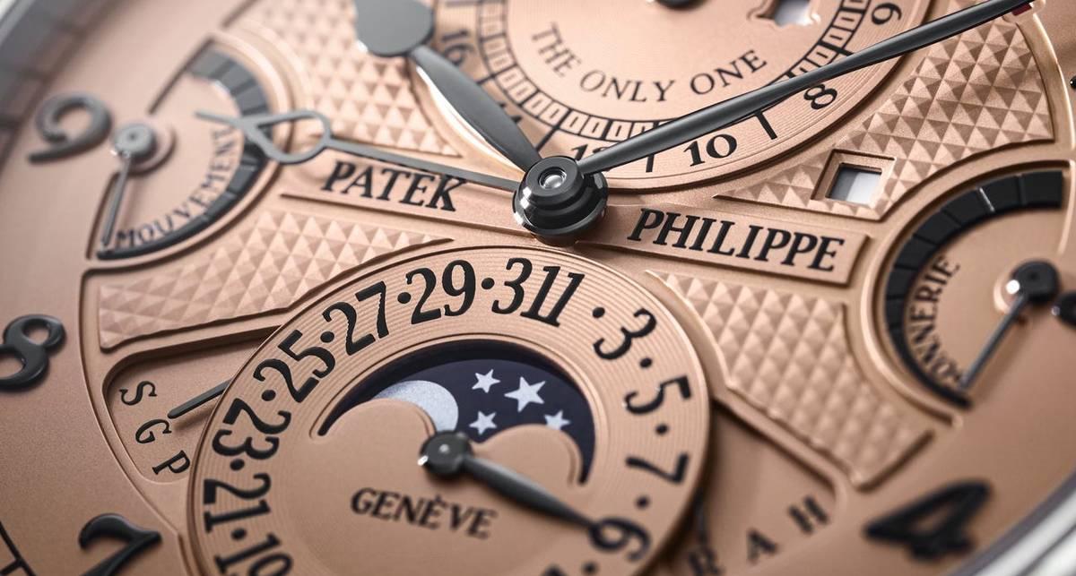 Patek Philippe Grandmaster Chime Ref. 6300A: наручные часы за рекордные $31 миллион