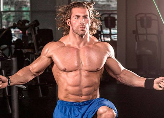 Адское жиросжигание: тренировка на основные группы мышц