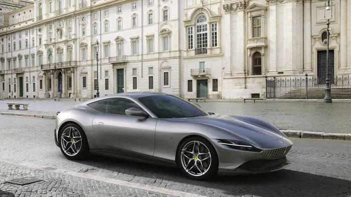 Экстерьер Ferrari Roma перекликается с Ferrari Portofino