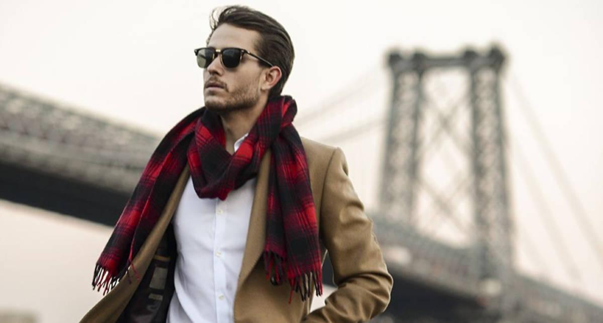 Мужские шарфы: 12 стильных вариантов осени 2019