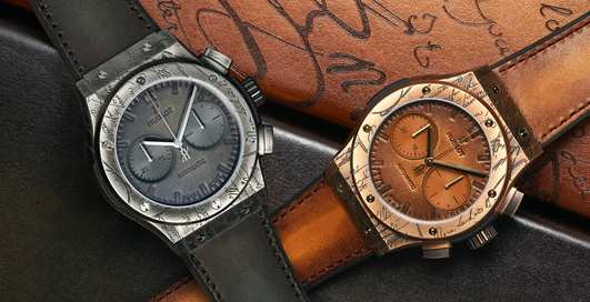 Classic Fusion Chronograph Berluti: часы класса «люкс» для ценителей кожи