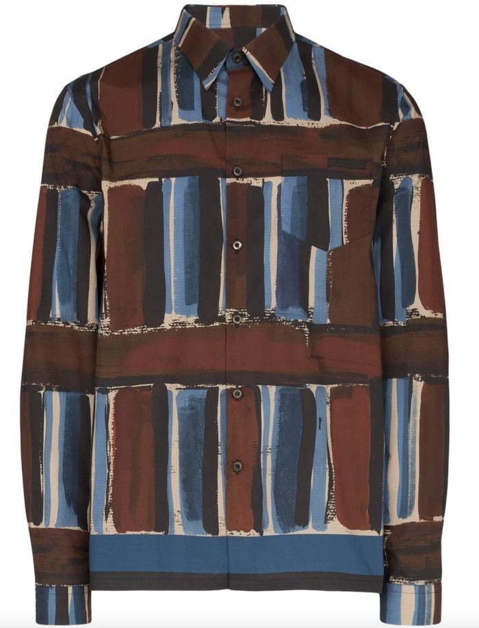 Рубашка Prada. От 16 000 грн — на farfetch.com