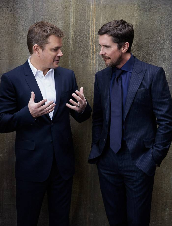 Мэтт Деймон и Кристиан Бэйл. Одни из самых высокооплачиваемых актеров Голливуда