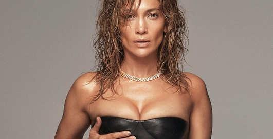 Кожа, цепи и сплошной секс: Дженнифер Лопес снялась для мужского глянца