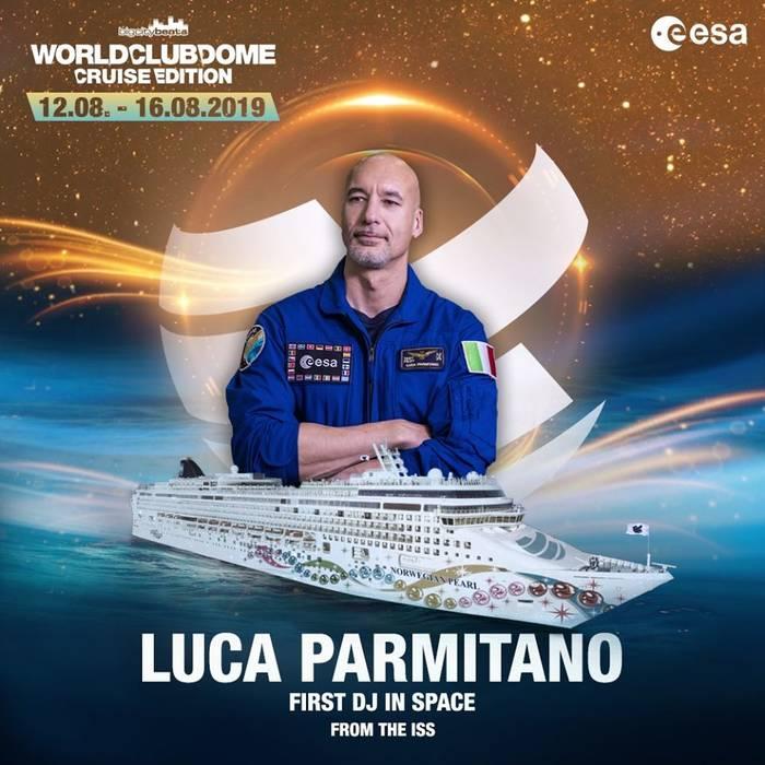 Лука Пармитано провел вечеринку в качестве диджея прямо с орбиты
