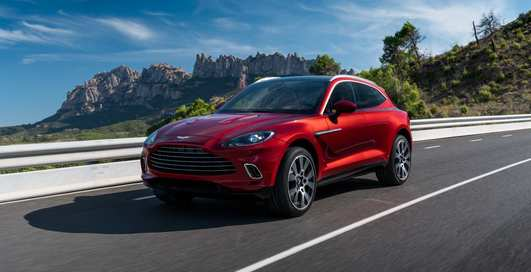 Aston Martin DBX: официально представлен новый кроссовер Aston Martin