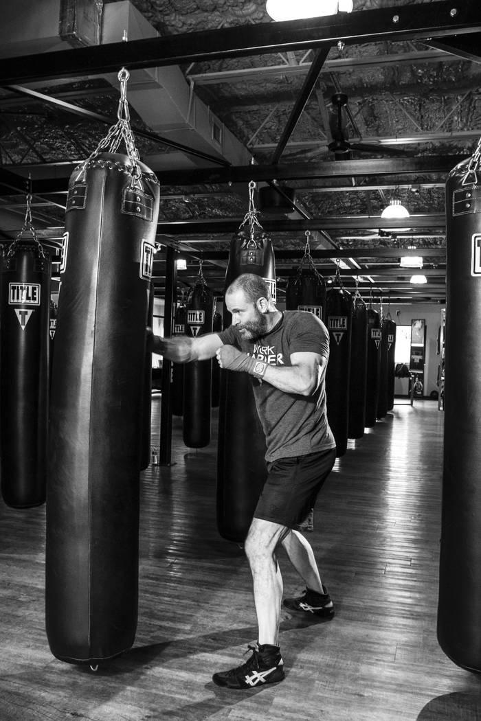 Бокс- настоящий мужской спорт