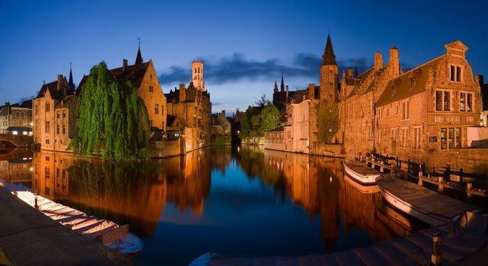 Исторический центр Брюгге внесен в перечень объектов культурного наследия ЮНЕСКО