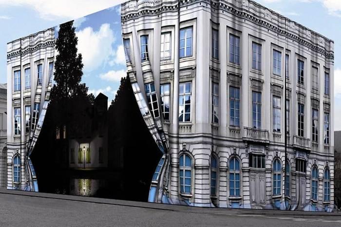 Музей Рене Магритта полон загадок и сюрреалистичен даже снаружи