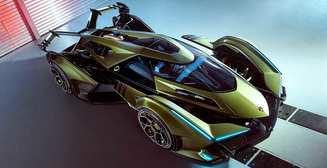 Lamborghini  V12 Vision Gran Turismo: еще один несуществующий суперкар