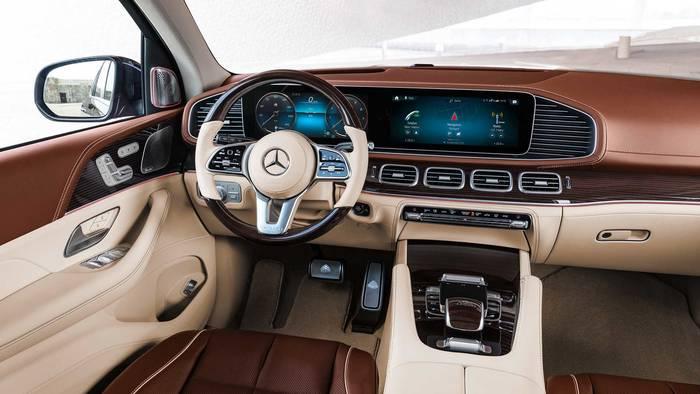 Кокпит Mercedes-Maybach GLS 600. Красиво