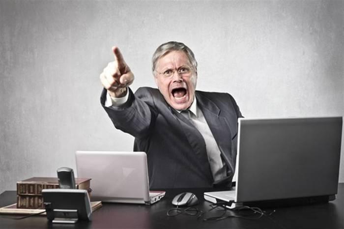 Несносный босс - одна из частых причин ненависти к работе