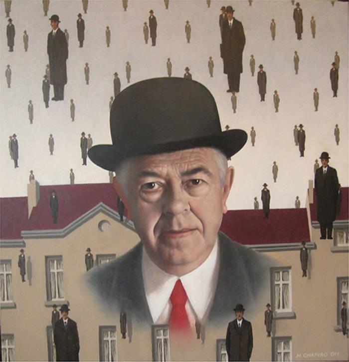 Рене Магритт - знаменитый художник-сюрреалист