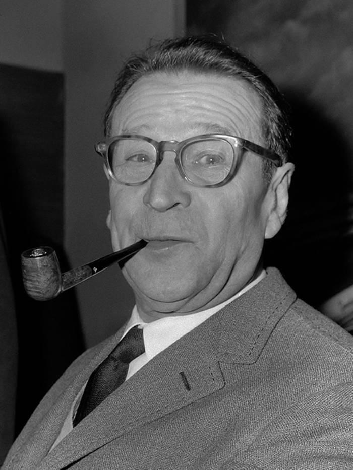 Жорж Сименон - автор книг о знаменитом сыщике комиссаре Мегрэ