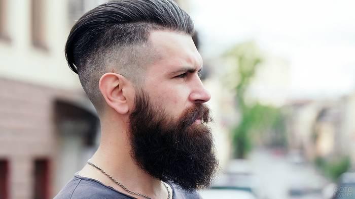 У тебя пышная борода — тщательно за ней ухаживай: будешь красивее остальных