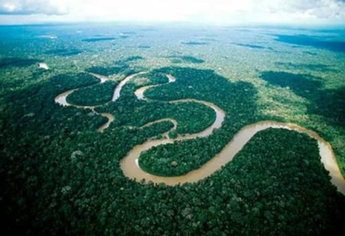 Река Амазонка - природное чудо света