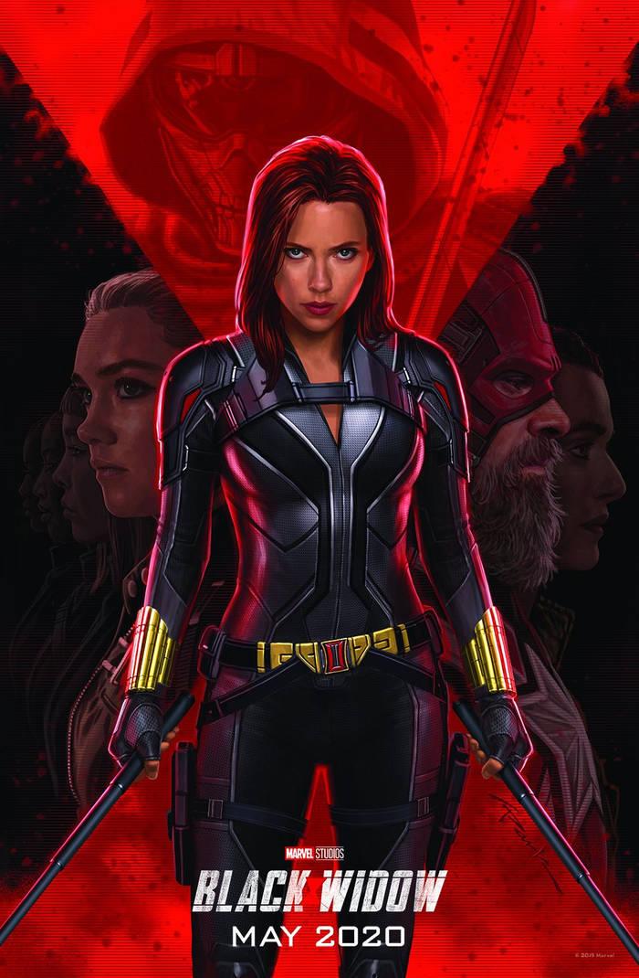 Постер будущего фильма буквально кричит о шпионском прошлом героини