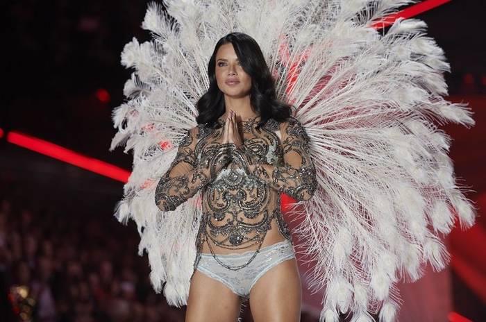 Адриана Лима была одним из самых прекрасных ангелов Victoria's Secret