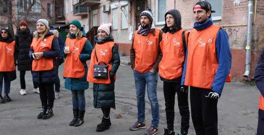 Думали, бегали, спасали: телеканал НЛО TV организовал эко-квест по Киеву