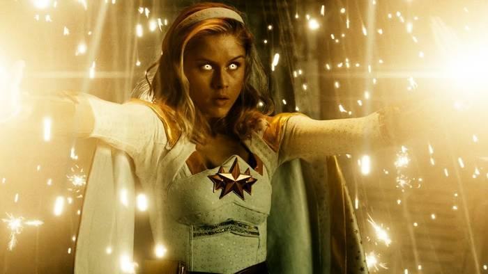 "Эрин Мориарти, супергероиня ""Старлайт"" из сериала ""Пацаны"""