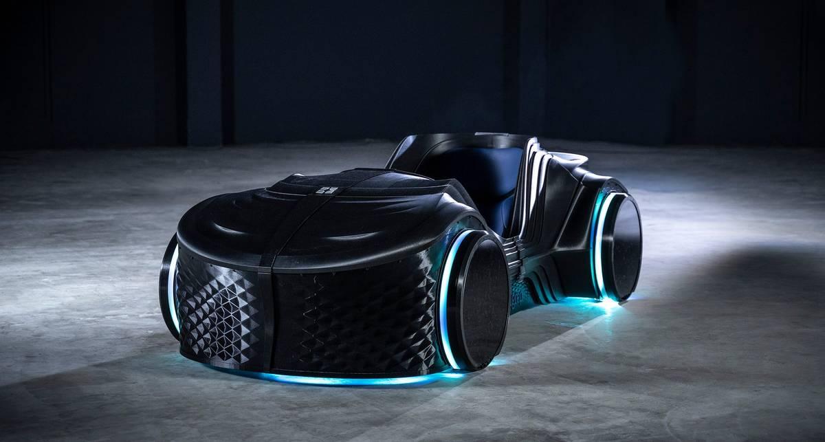 Loci: беспилотный электрокар, напечатанный на 3D-принтере
