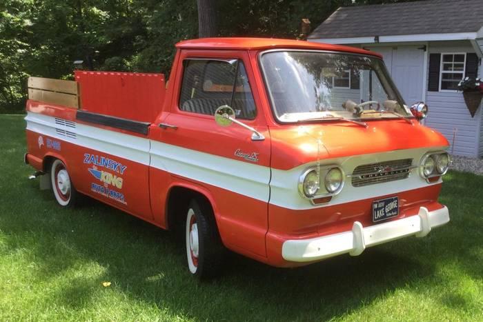Chevrolet Corvair Rampside - нестандартный пикап для всей семьи