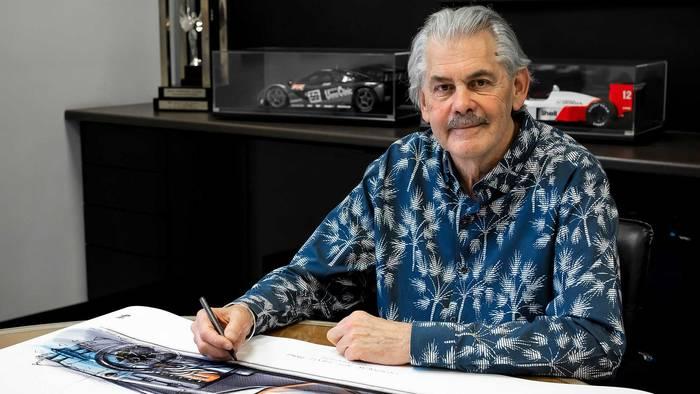 Гордон Мюррей, создатель легендарных авто и нового Gordon Murray Automotive T.50, с вентилятором