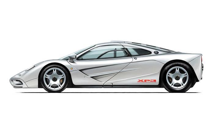 Так Gordon Murray Automotive T.50 выглядит на эскизе