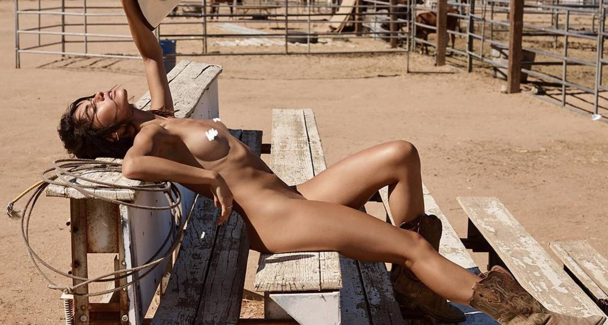 Красотка дня: модель, актриса и певец Лорена Медина